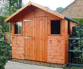 cabin is really a shed from simple plans