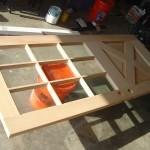 getting ready to stain this wood door