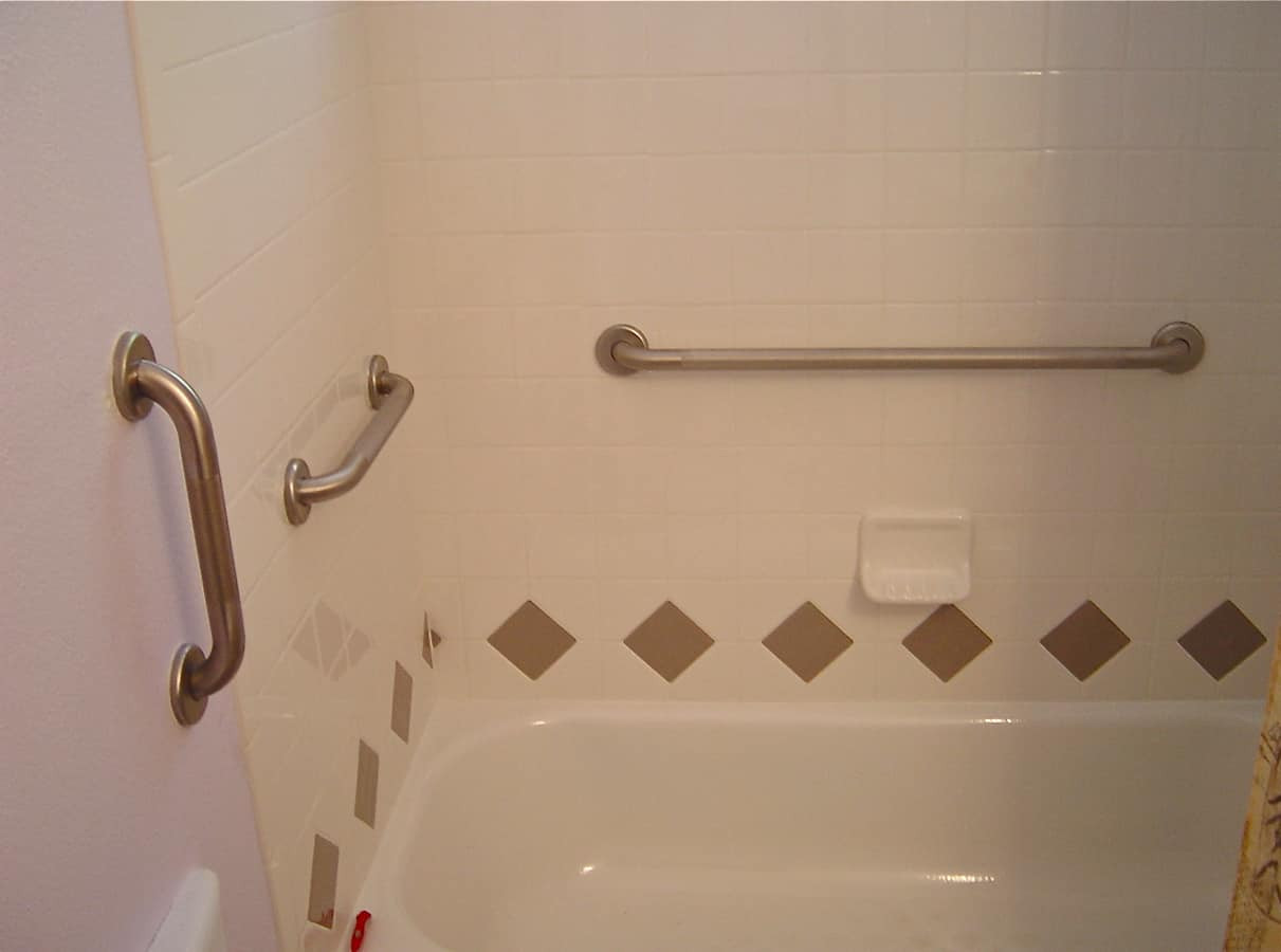 Installing grab bar in bathroom - Grab Bars For Bathrooms
