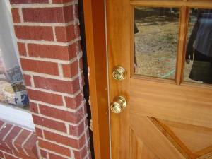 gap in my prehung door