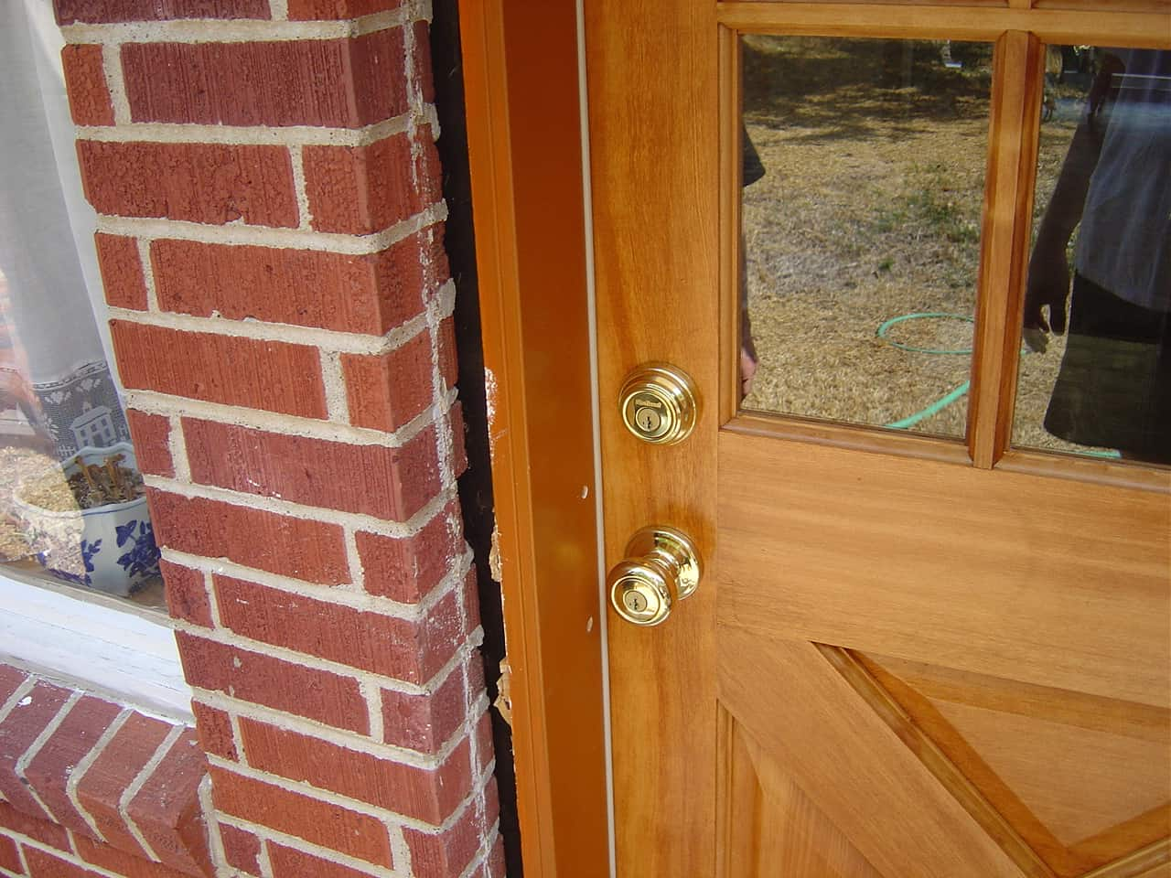 Exterior door installation installing a prehung door - How to install a prehung exterior door ...