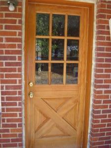 insulation around prehung door