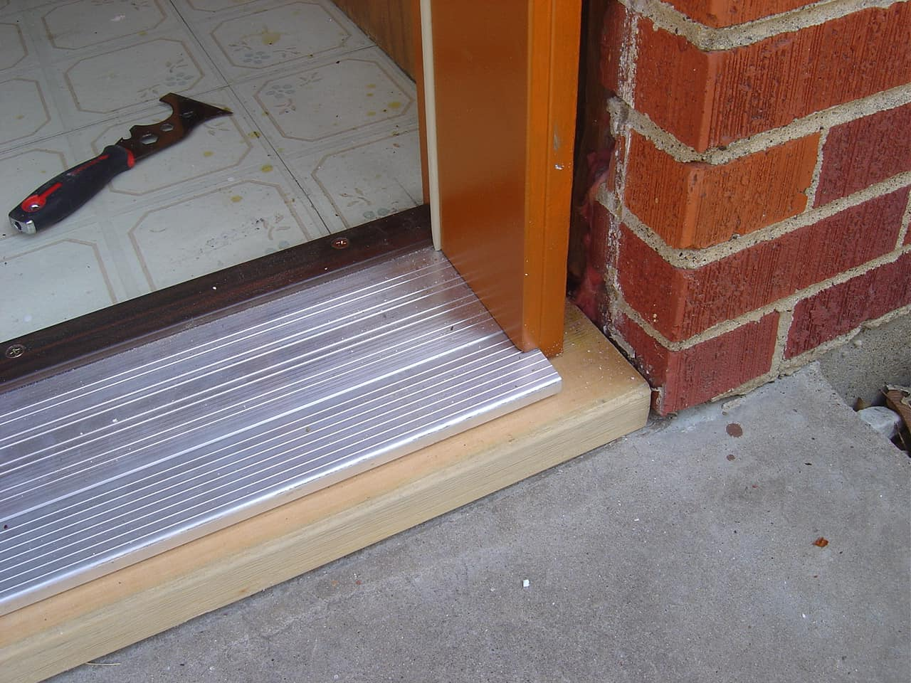 exterior door installation installing a prehung door ForHow To Install A Threshold For An Exterior Door