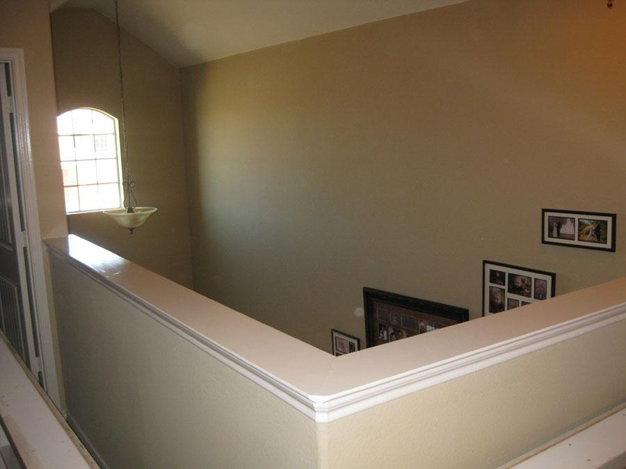 How To Build A Bookshelf On Top Of A Half Wall For Added ...