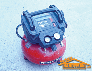 porter cable portable air compressor