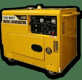 1700 watt diesel generator