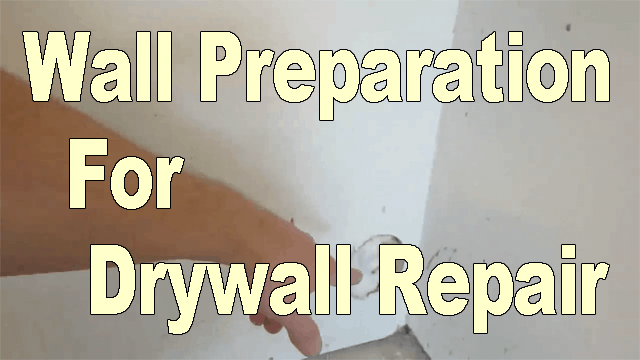 Basic Drywall Repair – Part One