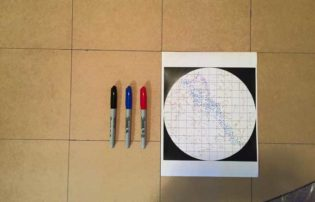 getting ready to add drill marks for my star map