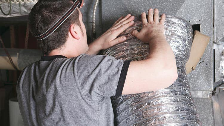 Sealing up a leaky air duct is a great way to save energy and money