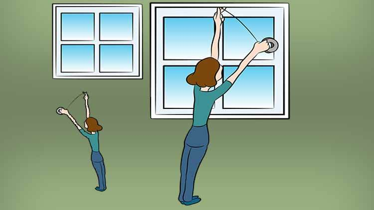 Sealing windows with weatherstripping can save a lot of money