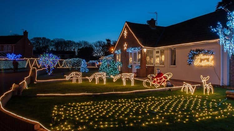 Christmas lights are fun decorating ideas