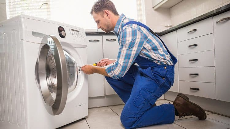 DIY washer installation